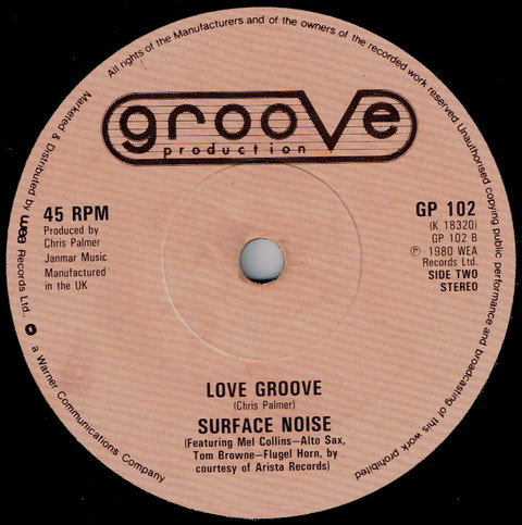 SURFACE NOISE - LOVE GROOVE