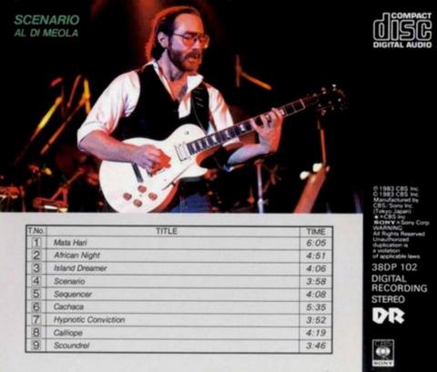 Al Di Meola - Scenario (1983) b