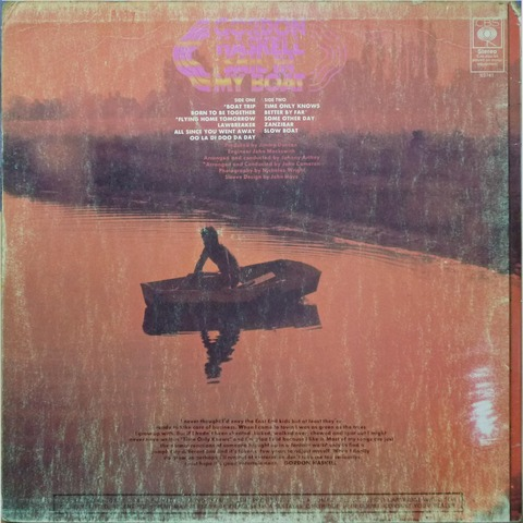 GORDON HASKELL - SAIL IN MY BOAT (1969) B