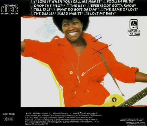 Joan Armatrading - The Key (1983) b