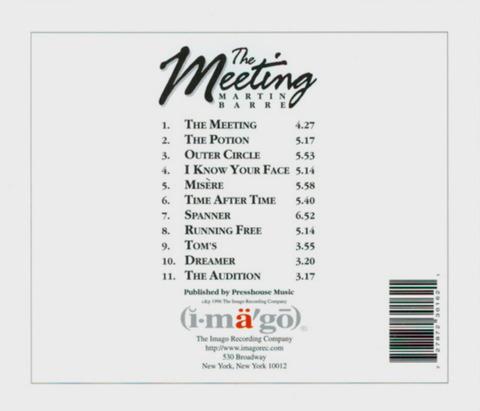 MARTIN BARRE - The Meeting (1996) b