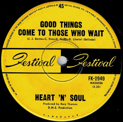 Heart 'N' Soul - Good Thing Come To Those Who Wait