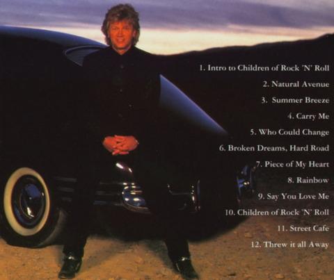 JOHN LODGE - NATURAL AVENUE (1977) CD(1987) B