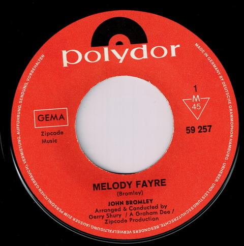 JOHN BROMLEY - MELODY FAYRE