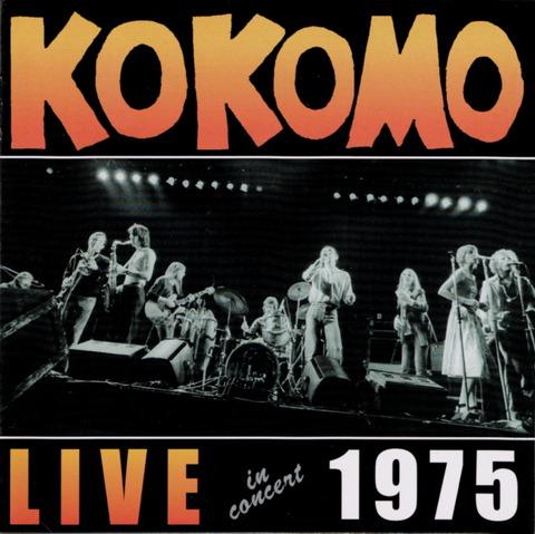 KOKOMO LIVE in concert 1975 (1998) F