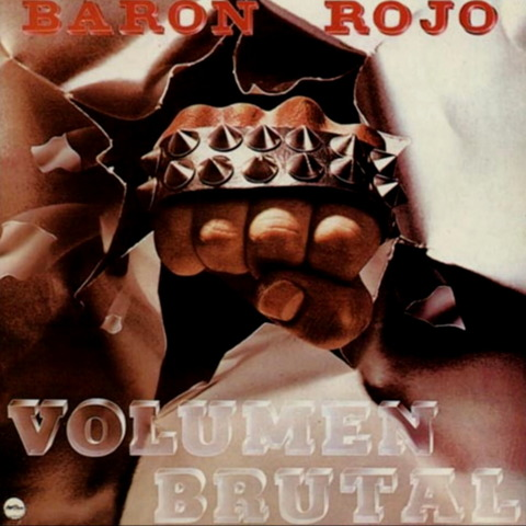BARON ROJO - VOLUMEN BRUTAL (1982) CD f MC