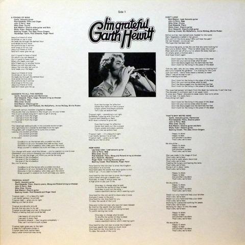 Garth Hewitt - I'm grateful (1978) i1