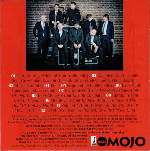 King Crimson - A MOJO Anthology (2019) B