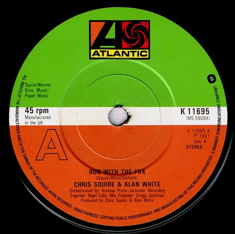 Chris Squire & Alan White - Run with the Fox