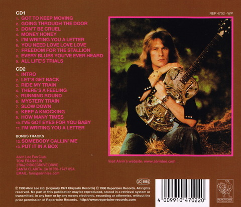 - In flight (1974) Remastered 2CD (1998) b