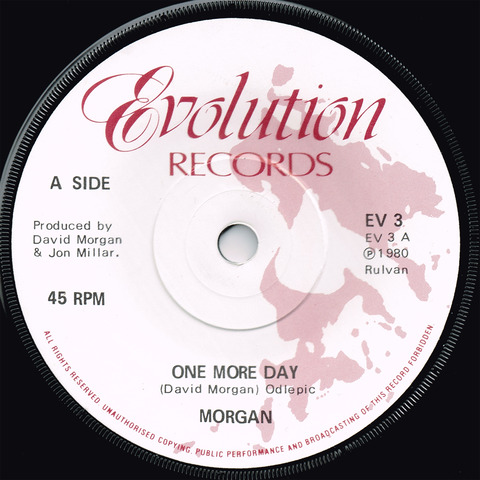 MORGAN - ONE MORE DAY - PRINCETON (1980) a