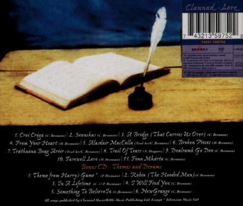 Clannad - Lore (1996) b MC