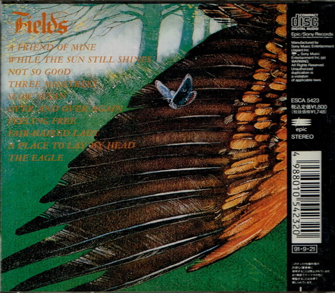 Fields (1971) CD (1991) b