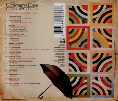 THE Graham Dee CONECTION - THE 60s COLLECTION (2011) b