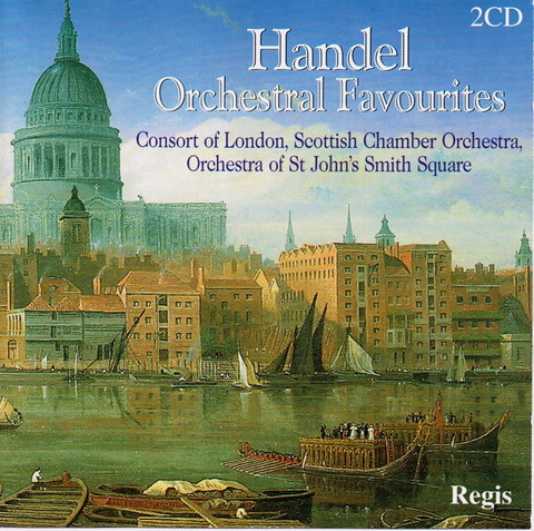 Scottish Chamber Orchestra - Handel Orchestral Favourites f