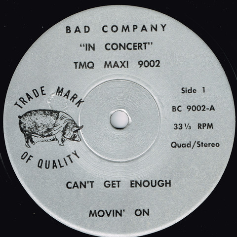 BAD COMPANY - IN CONCERT a