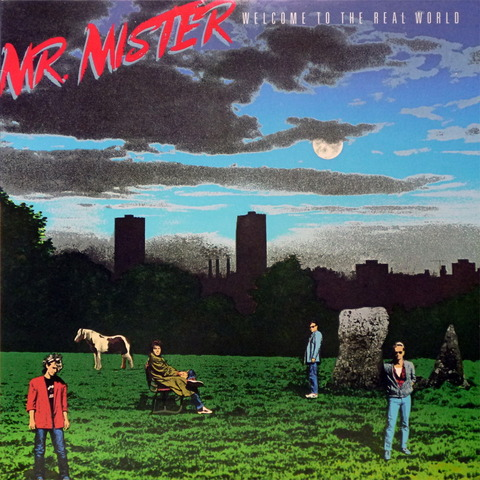 MR MISTER - WELCOME TO THE REAL WORLD (1985) F