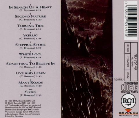Clannad - Sirius (1987) back