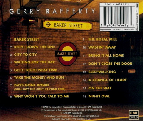 Gerry Rafferty - Baker Street (1998) b