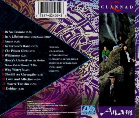 Clannad - Anam (1990) b
