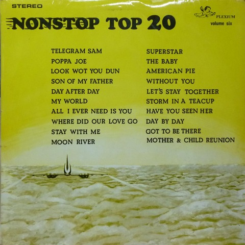 NONSTOP TOP 20 VOLUME SIX (Feb 1972) f