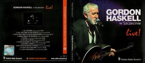 GORDON HASKELL w Szczecinie Live! (2008)