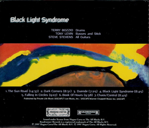 BOZZIO LEVIN STEVENS - Black Light Syndrome (1997) b
