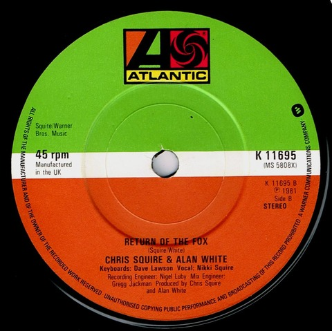 Chris Squire & Alan White - Return of the Fox