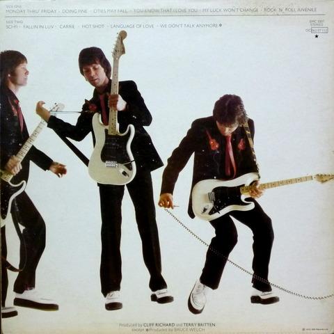 CLIFF RICHARD - Rock'n'Roll Juvenile (1979) b