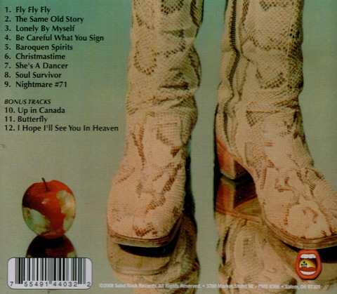 LARRY NORMAN - So Long Ago The Garden (1973)(2008) b