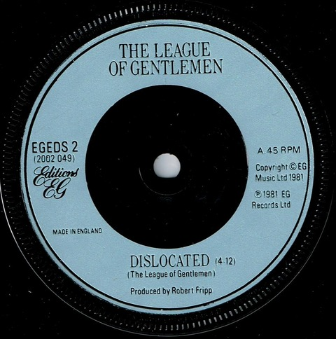 The League of Gentlemen - Dislocated