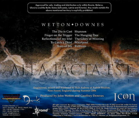 WETTON DOWNES - ICON II - RUBICON B