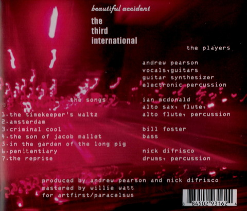beautiful accident - the third international (2010) CD b