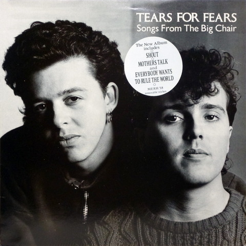 TEARS FOR FEARS - Songs From The Big Chair (1985) f