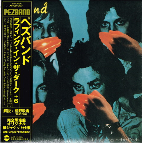 PEZBAND - Laughing in the Dark (1978) Reissue CD (2006) f