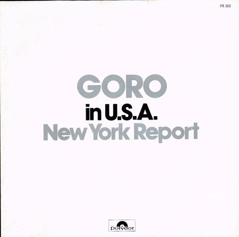 GORO NY REPORT