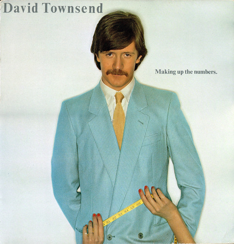 David Townsend ‎– Making Up The Numbers (1978) F