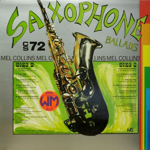 MEL COLLINS - SAXOPHONE BALLADS (1987or1988) B