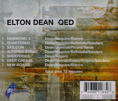 ELTON DEAN - QED (2000) B