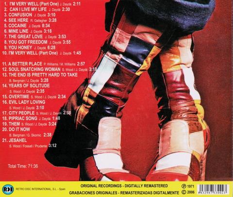dayde - DAYDE WHITE SOUL (1971)B