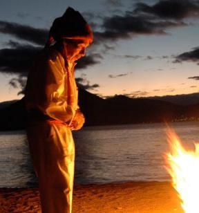 山中湖での祈り、あと若干名で、終わり!