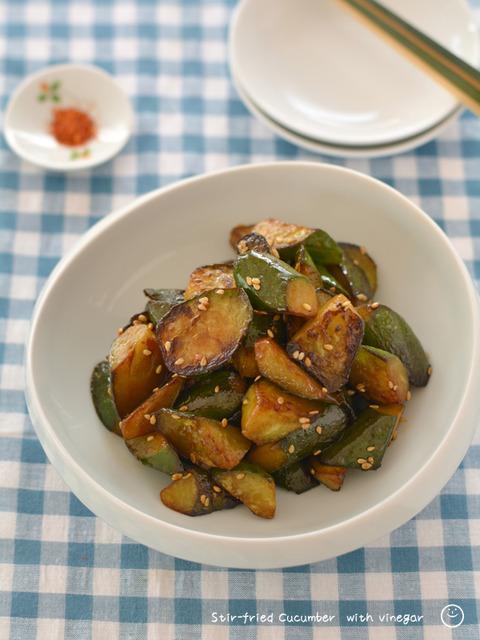酢炒めきゅうり_macaroni1909-2