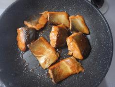 鮭の甘酢照り焼き190729-P3