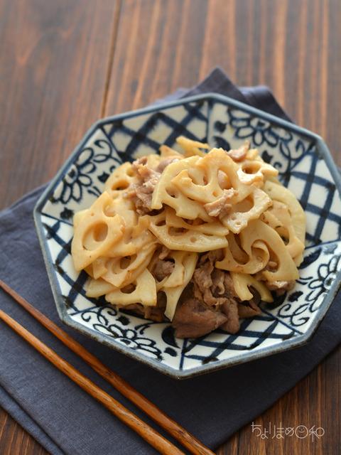酢炒め豚れんこん181009-2