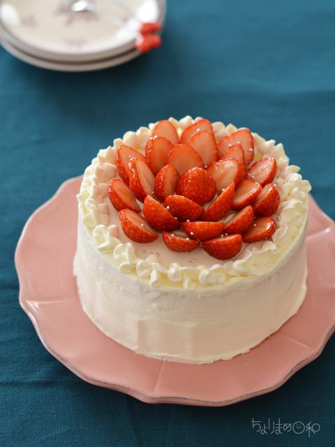 イチゴのショートケーキ170128-2