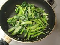 小松菜のカリカリしらす炒めP3