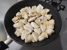 鶏肉のねぎオイスター醤油炒め190108-P3