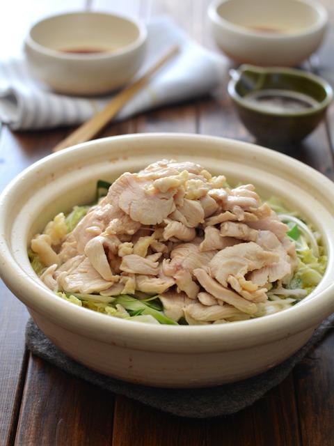 鶏白菜ごま油鍋R