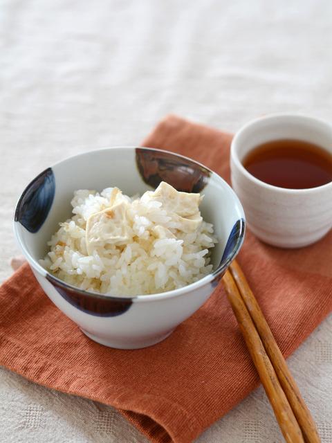 豆腐のごま風味炊き込みご飯R