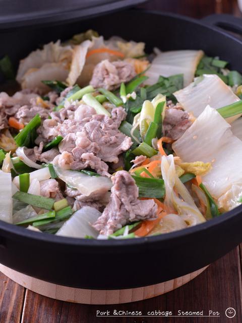 甘辛豚と白菜の無水鍋200130-2